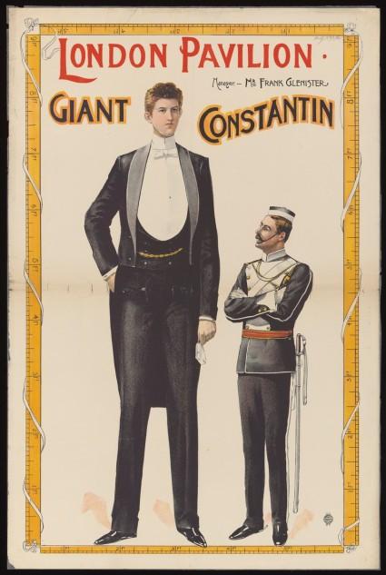 Poster: London Pavilion : Giant Constantin