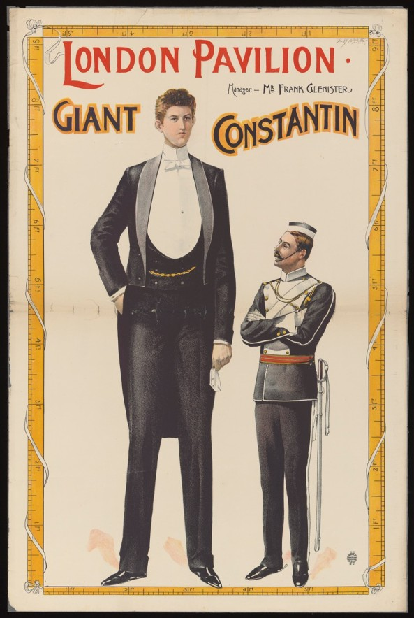 Poster: London Pavilion : Giant Constantin