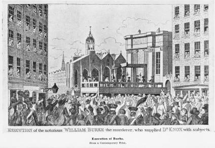 Execution of William Burke