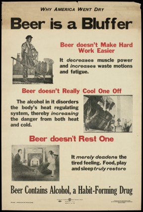 The supposed benefits of beer are illusory.