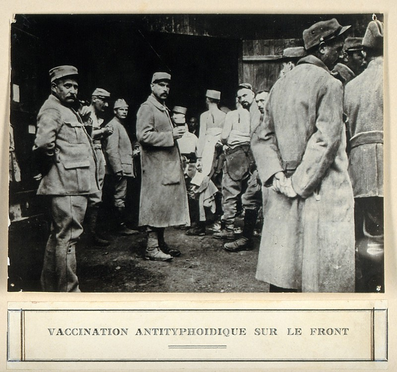 Typhoid – French Army 1914 – Journeys Through Health History