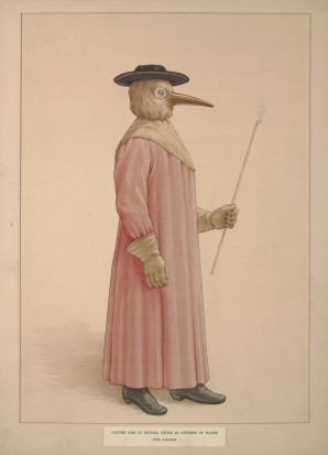 Plague Doctor 17th Century