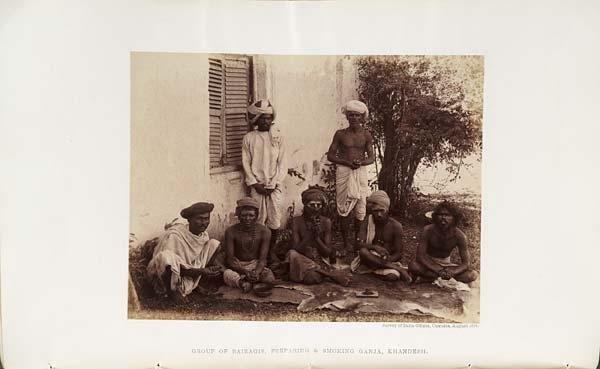 Preparing and Smoking Ganja