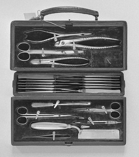 Aseptic Surgical Case Early 20th century